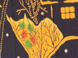 梨園染め手ぬぐい 四季 クリスマス